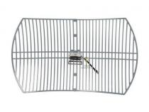TP-Link, Antena Outdoor GRID 2.4GHz 24dBi, conector N-Type