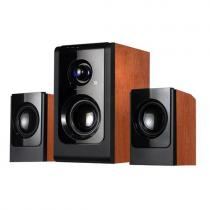Boxe 2.1 Serioux SoundBoost HT2100C, wood, 16W RMS, cherry
