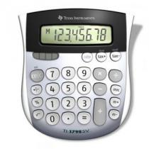TI-1795 SV, 8-digit, Angled, LCD SuperView display with large digits (14 mm) for easy viewing, tax functionality, Change sign (+/-)