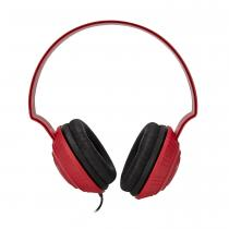 MP100 OVER-EAR HEADPHONES - ESSENTIALS - DJ STYLE - RED