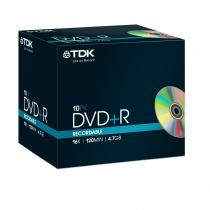 DVD+R 4.7GB 16X 10P FJC