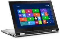 Hybrid - Laptop + Tableta Dell Inspiron 3148, 11.6-inch HD (1366 x 768) Truelife LED-Backlit Touch Display with Wide Viewing Angle (IPS), Intel Core i3-4030U Processor (3M Cache, 1.90 GHz), Video integrat Intel HD Graphics, RAM 4GB Single Channel DDR