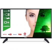 """LED TV HORIZON 32HL7330H, 32"""" DLED / HD / Smart TV (WiFi built-in) + DTS / 100Hz (CME) / USB Player (mpeg4, mkv) / VeryNarrow (12mm) / Double Neck-Foot Stand / Black"""