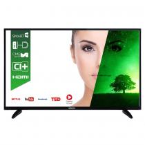 """LED TV HORIZON 48HL7310F, 48"""" DLED / FHD / Smart TV (WiFi built-in) + DTS / 100Hz (CME) / USB Player (mpeg4, mkv) / VeryNarrow (12mm) / Double Neck-Foot Stand / Black"""