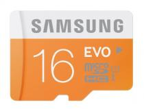 MICRO SD 16GB EVO CLASS10, UHS-1, UP TO 48MB/S,USB2.0 WITH ADAPTER