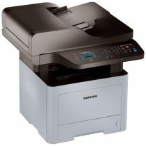 ProXpress M3870FW; 38 ppm; Digital Mono LaserJet Printer; 1200 x 1200 dpi effective; SPL, PCL6, PS3,PCL5e, IBM Proprint, EPSON, PDF V1.7, KS*,KSSM*; 256MB (maxim 512MB); Scan color pana la 4800dpi, Scan to email/ PC/ USB/ SMB/ FTP; Copier 38cpm; FAX 33.6Kbps, Junk Fax barrier, Fax Forward to Fax, Fax Forward to e-mail, Fax to PC/SMB/FTP; Duplex automat; ADF 50 coli, RADF; USB 2.0, Ethernet 10/100 Base TX, Wireless 802.11.b/g/n; Procesor 600 Mhz; FPOT 6,5 sec; 4 Line LCD; ReCP (Rendering Engine for Clean Page); suporta hartie 60 ~ 220 g/m2; Direct USB; Multi-purpose tray 50 coli
