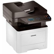 ProXpress M3875FD; 38 ppm; Digital Mono LaserJet Printer; 1200 x 1200 dpi effective; SPL, PCL6, PS3,PCL5e, IBM Proprint, EPSON, PDF V1.7, KS*,KSSM*; 256MB (maxim 512MB); Scan color pana la 4800dpi, Scan to email/ PC/ USB/ SMB/ FTP; Copier 38cpm; FAX 33.6Kbps, Junk Fax barrier, Fax Forward to Fax, Fax Forward to e-mail, Fax to PC/SMB/FTP; Duplex automat; ADF 50 coli; USB 2.0, Ethernet 10/100 Base TX; Procesor 600 Mhz; FPOT 6,5 sec; 4 Line LCD; ReCP (Rendering Engine for Clean Page); suporta hartie 60 ~ 220 g/m2; Direct USB; Multi-purpose tray 50 coli