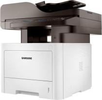 ProXpress M3875FW; 38 ppm; Digital Mono LaserJet Printer; 1200 x 1200 dpi effective; SPL, PCL6, PS3,PCL5e, IBM Proprint, EPSON, PDF V1.7, KS*,KSSM*; 256MB (maxim 512MB); Scan color pana la 4800dpi, Scan to email/ PC/ USB/ SMB/ FTP; Copier 38cpm; FAX 33.6Kbps, Junk Fax barrier, Fax Forward to Fax, Fax Forward to e-mail, Fax to PC/SMB/FTP; Duplex automat; ADF 50 coli, RADF; USB 2.0, Ethernet 10/100 Base TX, Wireless 802.11.b/g/n; Procesor 600 Mhz; FPOT 6,5 sec; 4 Line LCD; ReCP (Rendering Engine for Clean Page); suporta hartie 60 ~ 220 g/m2; Direct USB; Multi-purpose tray 50 coli