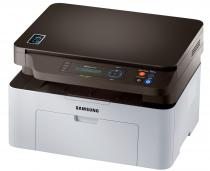 Xpress M2070W; 20 ppm; Digital Mono LaserJet Printer; Up to 1,200 x 1,200 dpi effective output Resolution; SPL; 128MB; Scan color up to 4,800 x 4,800 dpi; Copier 20cpm; USB 2.0; Wireless 802.11 b/g/n; Procesor 600 Mhz; FPOT 8,5 sec; 2 x 16 Line LCD Display; Mobile Print, Eco Mode
