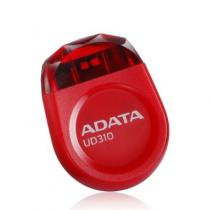 UD310 - Durable Waterproof and Shock-Resistant, 16 GB, Chip-on-Board (COB) technology resulting in high water and impact resistance, Jewel Like USB Flash Drive, Ultra Small, Ultra Convenient, Dimensions (L x W x H) 23 x 17 x 7mm, red, 99 ani, AUD310-16G-RRD