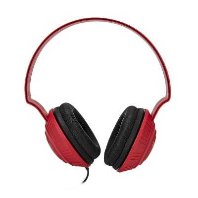 CASTI TDK MP100 OVER-EAR ESSENTIALS DJ STYLE RED