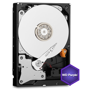 HARD DISK WESTERN DIGITAL 2TB PURPLE SATA 6GB/S INTELLIPOWER 64MB