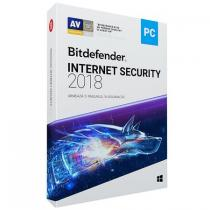ANTIVIRUS BITDEFENDER INTERNET SECURITY 2018 1AN 3PC RETAIL BOX WB11031003