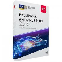 ANTIVIRUS BITDEFENDER PLUS 2018 1AN 1PC RETAIL BOX WB11011001