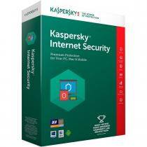 ANTIVIRUS KASPERSKY INTERNET SECURITY 2018 1AN 5PC RETAIL KL1941X5EFS